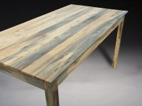 Rustic Beetle Kill Pine Table   Benham Design Concepts